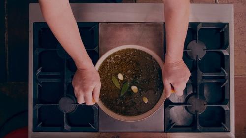 Olive Oil Lentils